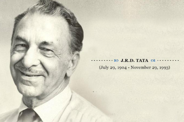 Remembering JRD Tata: The Father of Indian Civil Aviation