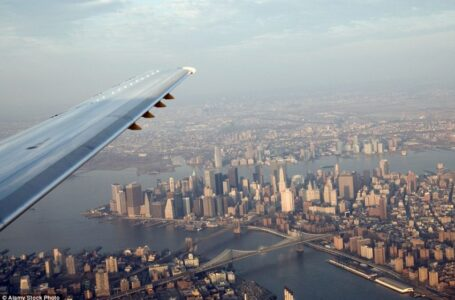 Spectacular Views from Airplane Windows