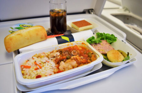 Gourmet Food Even at 30,000ft