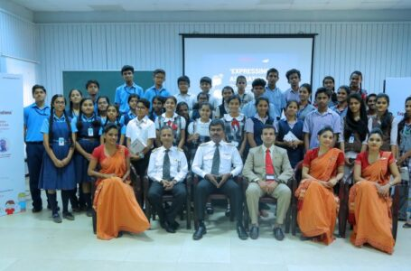 EXPRESSING ASPIRATIONS – An Interaction between Students with Pilots & Cabin crew