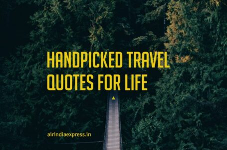 Handpicked Travel Quotes for Life
