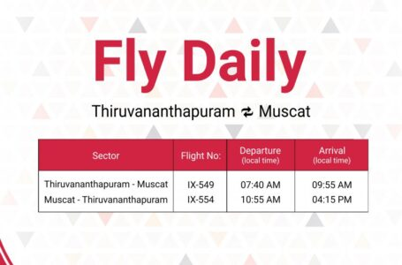 Want to Visit Muscat? We've Daily Flights from Thiruvanathapuram to Muscat!