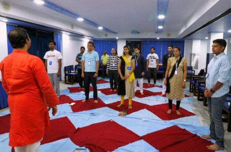 Three-day Yoga Programme Conducted For The Employees Air India Express