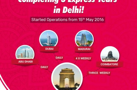Three years from New Delhi! Air India Express is on a high!